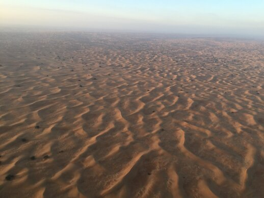 Mokslo stebuklai Dubajuje: dirbtinai sukeltas lietus čia jau nieko nestebina