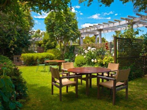 Kuriame sodo dizainą: kaip išlaikyti proporcijas, kad būtų gražu ir patogu