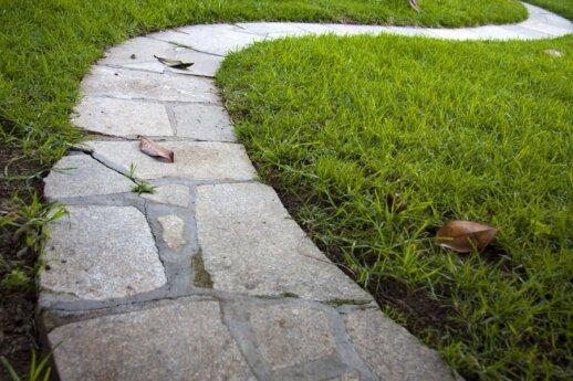 Kaip išsirinkti grindinio plokštes ir žvirgždą