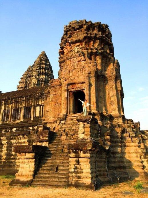 Ievos ir Donato kelionė Kombodžoje
