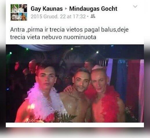 """""""Mr. Gay Baltics"""" pirmųjų vietų prizininkai"""
