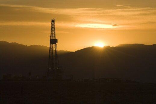 Naftos ir dujų gręžiniai Vajomingo valstijoje JAV