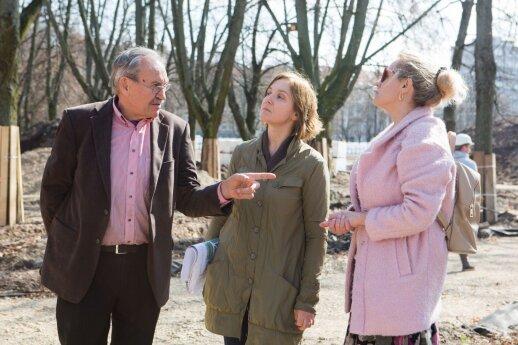 Iš kairės: Alvydas Mituzas, Jurgita Stonkutė-Vyrukaitienė, Jurga Šimeliūnė