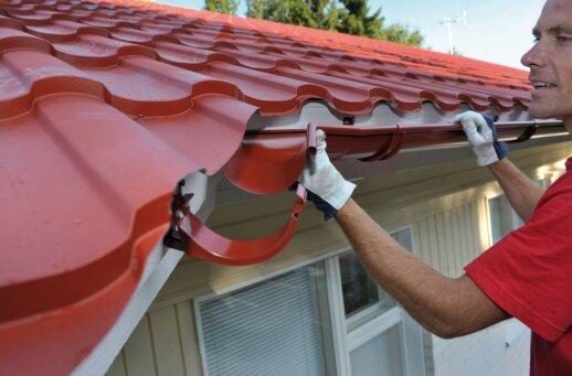 Kaip tinkamai įrengti šlaitinį stogą