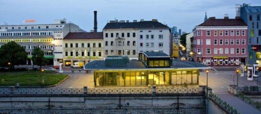 Langenfeldgasse metro stotis Vienoje