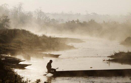 Rapti upė Čitvane (Nepalas)