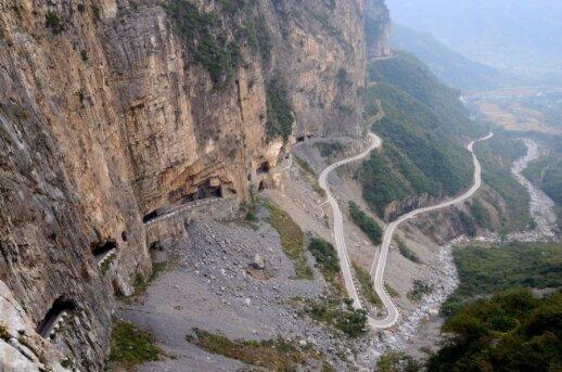 Guoliang tunelis, Kinija