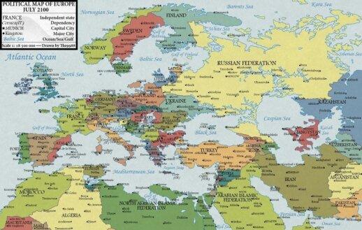 Europa 2100 metais