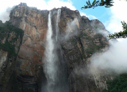 Didžiausias pasaulyje Anchelio krioklys