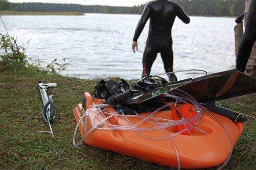 Povandeninės žūklės įranga nėra pigi
