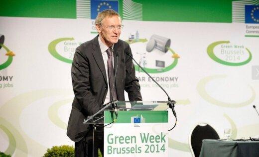 Janezas Potočnikas kalba Europos Žaliosios savaitės atidaryme © EU - Patrick Mascart nuotr.