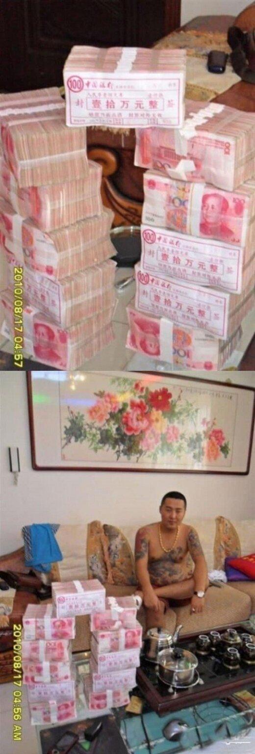 Iš arti pamatykite, kaip atrodo Kinijos mafijozo gyvenimas