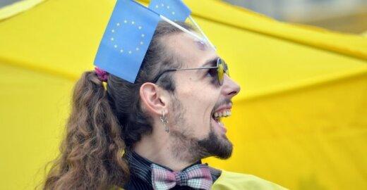 Ukrainoje ES dovana prieinama ne visiems