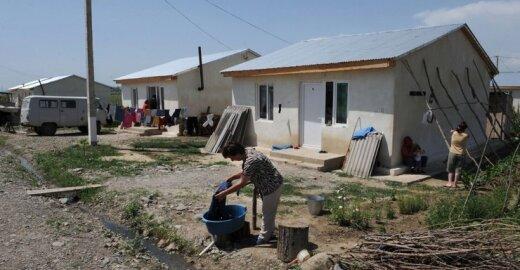 Tserovani gyvenvietė Gruzijoje buvo pastatyta pabėgėliams