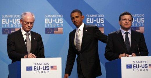 H.Van Rompuy, B. Obama, J.M. Barroso