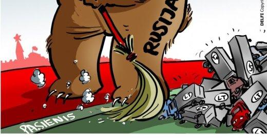 Lietuvos vežėjų tikrinimai Rusijos pasienyje svarstomi EP