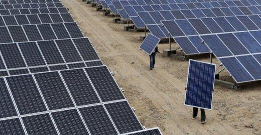 ES ir Kinijos kare dėl saulės baterijų – netikėtas posūkis