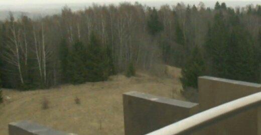 Vaizdai nuo apžvalgos bokšto