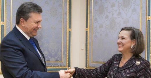 Victoria Nuland ir Viktoras Janukovyčius