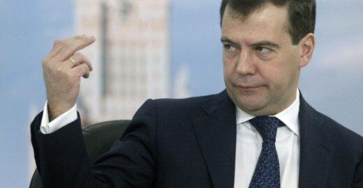 Rusijos prezidentas Dmitrijus Medvedevas