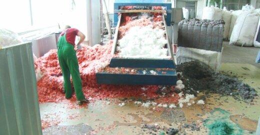 Plastikas, plastiko perdirbimas, fabrikas