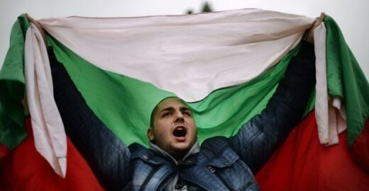 Studentų protestas Bulgarijoje