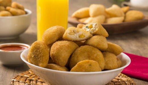 Traškūs sūrio ir kukurūzų kroketai