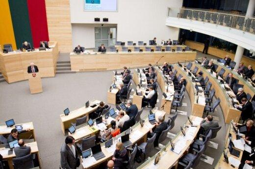 Seimo nario mandato nesieks tik 12 dabartinių parlamentarų