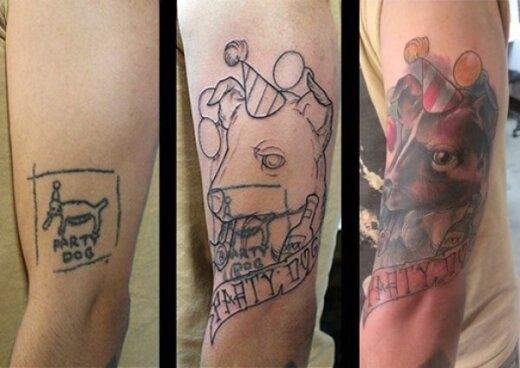 9 siaubingos tatuiruotės, kurias žmonės sugebėjo neįtikėtinai ištaisyti
