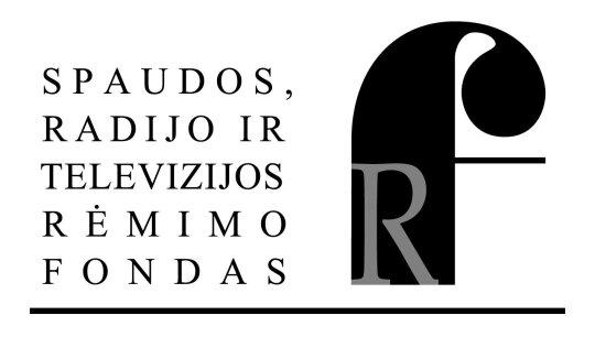 """Projektą """"Kultūros pjūvis"""" remia SRTRF"""