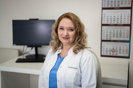 "Medicinos centro ""Northway"" Vilniuje burnos chirurgė Ieva Gendvilienė"