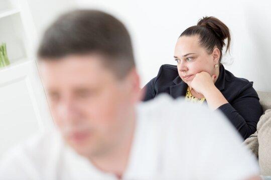 Karys Gustavas su žmona