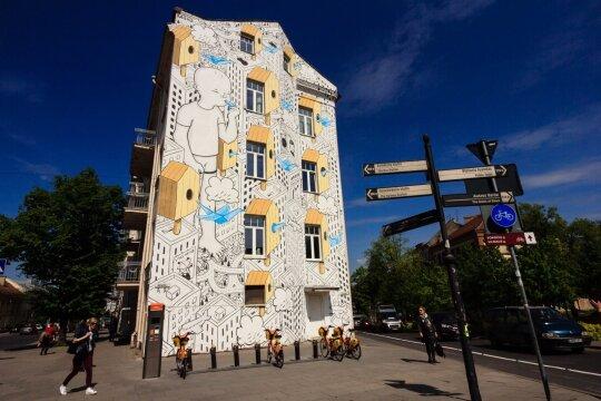Gatvės menas Vilniuje