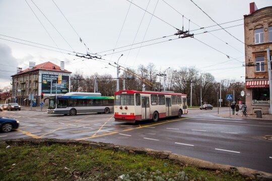 J. Basanavičiaus ir Švitrigailos gatvių sankirta
