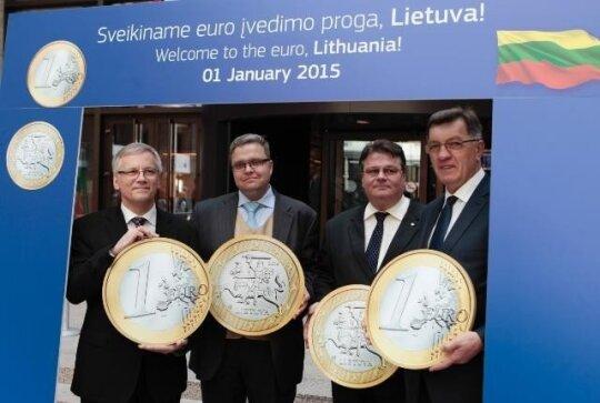 Priimtas sprendimas dėl euro Lietuvoje, EK nuotr.