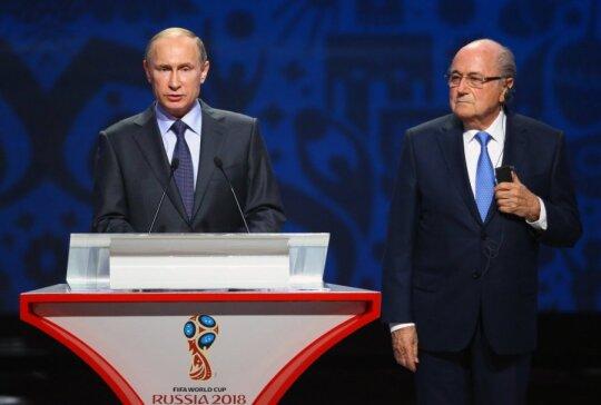 Vladimiras Putinas ir Seppas Blatteris