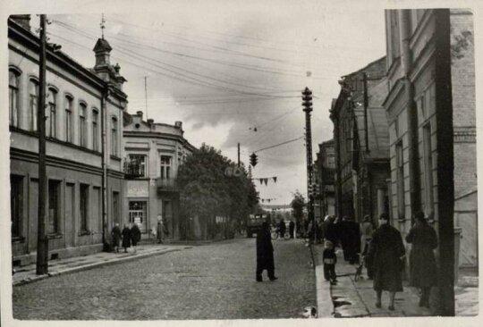Паневежис в советские годы (фото Epaveldas.lt)