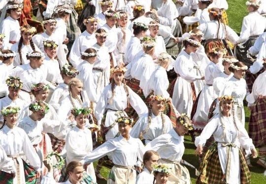Dainų šventės Šokių diena skleis ypatingą šviesą