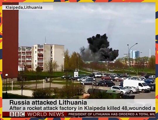 Rusija užpuolė Lietuvą