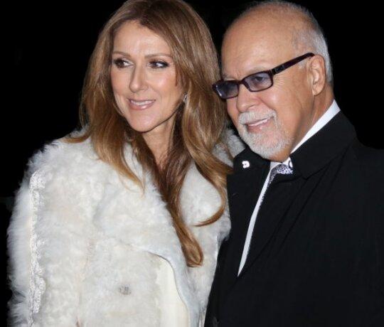 Celine Dion: René nori mirti ant mano rankų