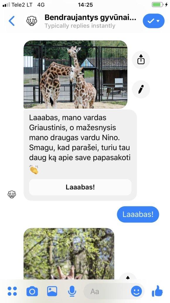 """Zoologijos sode – unikali galimybė """"prakalbinti"""" gyvūnus"""