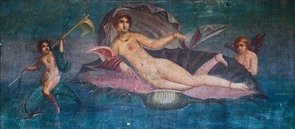 Venera mozaikoje Pompėjoje