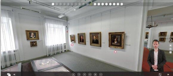"""Vilniaus paveikslų galerijoje – žymusis paveikslas """"Pjovėja"""""""