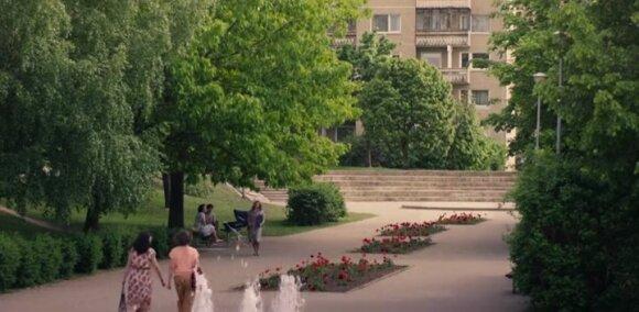 "Kadras iš HBO serialo ""Černobylis"""