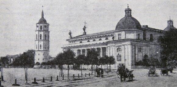 Katedra, Vilnius, XIX a.