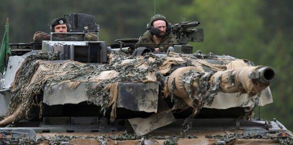Vokietijoje skambina pavojaus varpais: problema kur kas rimtesnė nei ginkluotės stygius