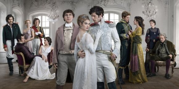 Cast of BBC's War and Peace