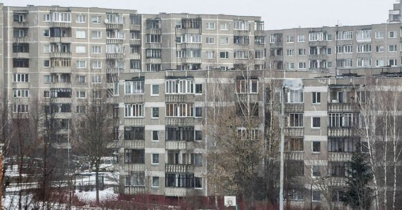 Soviet block apartment buildings will be a sub-theme at the Baltic pavilion