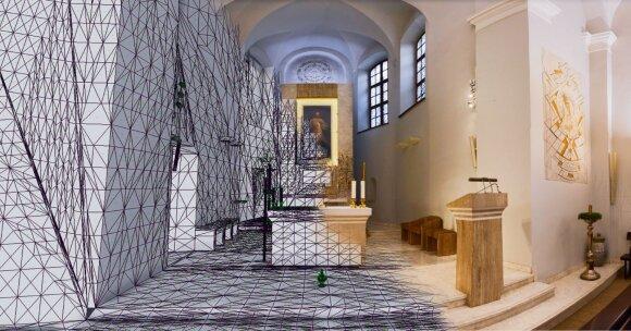 Popiežiaus vizito išvakarėse atgijo Vilnių garsinantis paveikslas