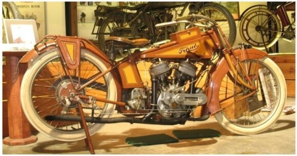 """Traub"" motociklas"